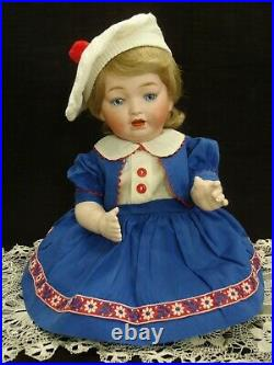 16 tall Adorable c1920 Morimura Character Baby bisque head doll withvoice MAMA