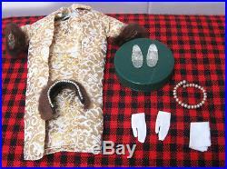 1959 Japan Vtg. Barbie Dollgorgeous Golden Girl961evening Splendorexcellent