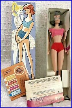 1962 Vintage Japan Midge Barbies Best Friend, Doll WithOriginal Box #860 Brunette