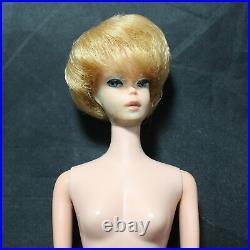 1962 Vintage Platinum Bubble Cut Barbie Doll #850 in Box Japan CF01959