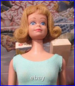 1962beautiful Rare Blonde Midge Dolloriginal Box-ossbook-gold Standmint Doll