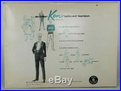 1963 Vintage KEN, NRFB #785 DREAMBOAT in teal frame tray, Mattel, Japan, Barbie