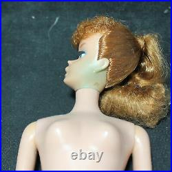 1963 Vintage Redhead Barbie Doll Ponytail #850 in Box Japan CF01961