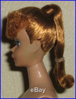 1963 rote Ponytail Nr. 5, Barbie Vintage Japan 1958