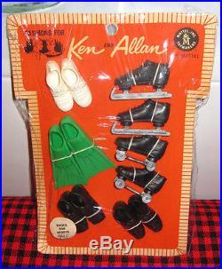 1964 Japan Vtg. Ken+allan Pakshoes For Sportsmint+complete6 Pairvery Rare