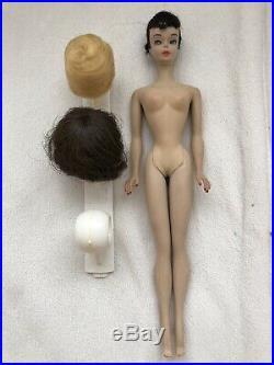 1964 Vintage Japan Barbie with2 Wigs, Vintage Wardrobe, Vintage Ponytail Doll Case