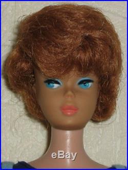 1964 rote side Part Bubble Cut Barbie Vintage Japan 1958