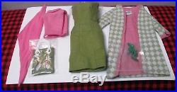 1965 Japan Vintagebarbiepoodle Parade Setpumpsdresscoatbagscarf#1643