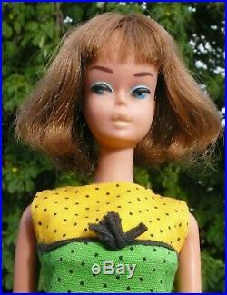 1965 Vintage Barbie American Girl, long hair, AG, Mattel, #1690 Studio Tour, Japan
