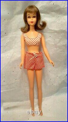 1966 Francie Straight Leg #1140 in Original Swimsuit