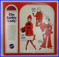 1970 NRFB Vintage Barbie PRIMA BALLERINA in FRAME TRAY, #1787 JAPAN, Mattel Mod