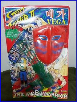 1992 Vintage Street Fighter 2 VEGA Korean Figure Doll MASK Toy Model Japan Anime
