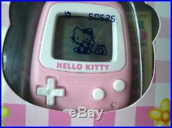 1998 VTG NINTENDO Sanrio Japan Authentic GAME tamagotchi Hello Kitty DOLL rare