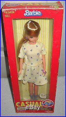 #4589 NIB Vintage Takara Japan Casual Barbie Fashion Doll