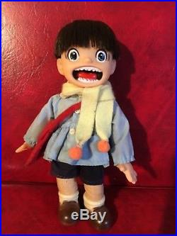 7 MAKOTO CHAN Original Vintage Figure Doll Kazuo Umezu Umezz Popy Made in Japan
