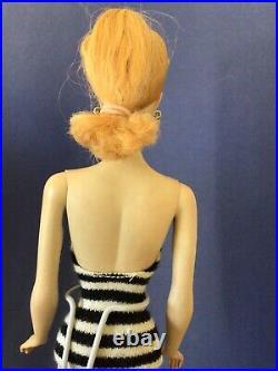 All Original Vintage Blonde Ponytail #3 Barbie