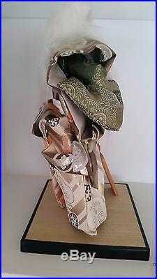 Authentic Japanese Vintage Samurai Doll-Excellent Condition