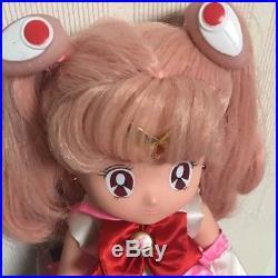 BANDAI Sailor Moon Super S NAKAYOSI CHIBI MOON DOLL 1994 Japan Used Vintage F/S