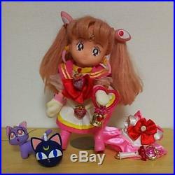 BANDAI Vintage Sailor Moon Chibi Moon NAKAYOSHI CHIBI MOON DOLL 1994 From Japan