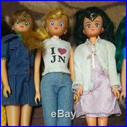 Bandai Sailor Moon 7 Doll & Clothes Uniform Vintage Figure Cool Japan Anime Rare