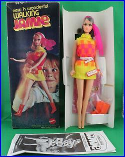 Barbie 1970 New & Wonderful WALKING JAMIE Sears Exclusive Chocolate Bon Bon NRFB