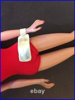 Barbie Doll BRUNETTE Bubble Cut RARE American Girl Transitional NIB, Wow