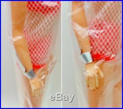 Barbie Rare 1960's TNT Twist n Turn Titian Red Hair Factory Sealed Bag Wrist Tag