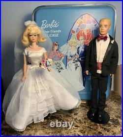 Barbie Trousseau Trunk & Wedding Set With Dolls #947&#787 RARE HTF