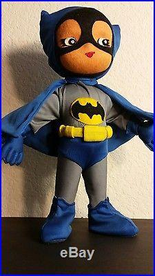 Batman Vintage 16'japan Plush Doll Rare