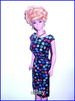 Beautiful Vintage 1961 Platinum Blonde Bubble Cut Barbie 850 Japan Mint