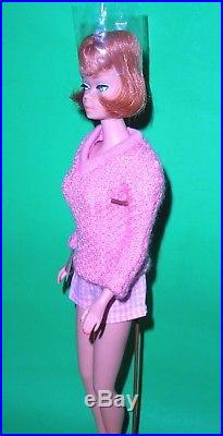 Beautiful Vintage 1965 Titian Redhead American Girl Barbie 1070 Japan Mint