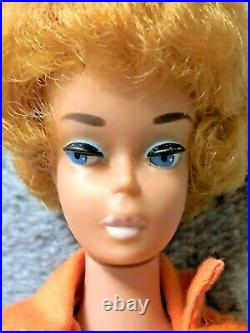 Beautiful Vintage Platinum Bubblecut Barbie NM WithNM+ Vintage Outfit! SENSATIONAL