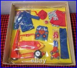 Brand New In Box1965 Giftsetjapanskipper On Wheels1032completenrfbcello