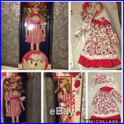 Candy Candy Doll Figure Apron Popy Japan Yumiko Igarashi Pet Box vintage Rare