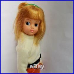 Canna chan Nakajima Japan Scarlet's sister 1960's Japanese Vintage Doll Boots