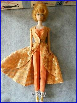 Early Vintage Barbie Dinner at 8 Dressed Box Doll Complete 1963 VGC