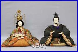Edo era Hina ningyo Girl Hinamatsuri Kimono Vintage Japann doll RK16