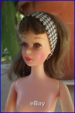 FRANCIE cousine Barbie poupée vintage AMERICAN GIRL jambes pliantes1965 JAPAN