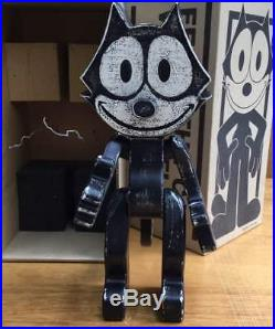 Felix the Cat Anime Manga Wood Figure statue doll Vintage Super RARE Japan m1