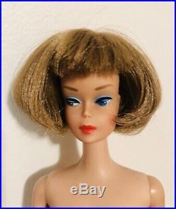 Gorgeous Vintage 1966 Brownette LH American Girl Barbie 1070 Mattel Japan