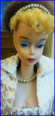 Gorgeous Vintage #4 Blonde Ponytail Barbie Enhanced by D. Marstellar! A BEAUTY