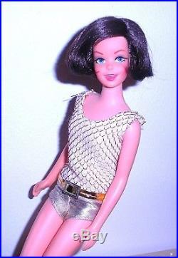 Groovy Vintage Mod 1968 Brunette Twist N Turn TNT Casey Francie Japan Mint