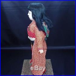 ICHIMATSU NINGYOU Japanese Kimono Girl Doll Edo Antique Vintage Kawaii