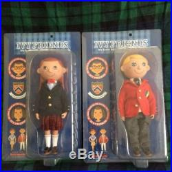 Ivy Friends Pair Doll Hozumi Kazuo Sekiguchi Vintage Figure Japan711