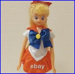 JUNK Bandai Pretty Soldier Sailor Moon Venus Aino Minako 1993 vintage doll