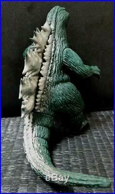 Japan GODZILLA KAIJU Figure BANDAI SOFUBI Soft Vinyl doll 1983 Vintage 23cm D3
