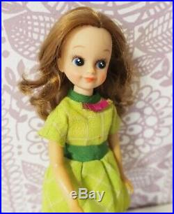 Japan Vintage Doll Sumire chan Nakajima seisakusho Scarlets friend 60s rare