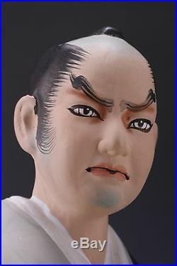 Japanese Vintage Hakata Clay Doll -Great Samurai Mori Tahei-