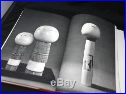 Japanese Vintage Wooden Kokeshi Doll Book with Brochure Shido Shozan from Japan