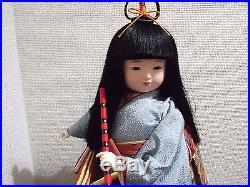 Japanese Vtg. Beautiful Japanese KImono doll/ichimatsu ningyo/Geisha girl